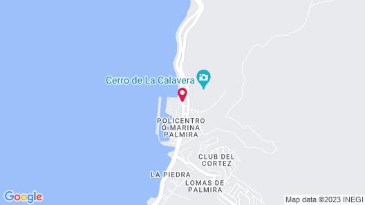 City Express La Paz Map