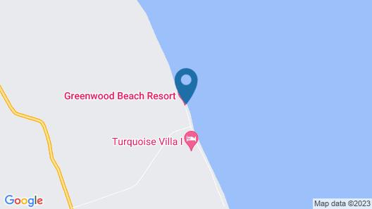 Greenwood Beach Resort Map