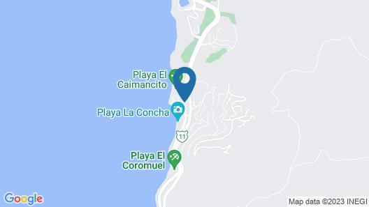 La Concha Beach Resort Map