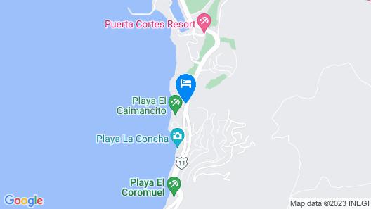 Playa de la Paz Map
