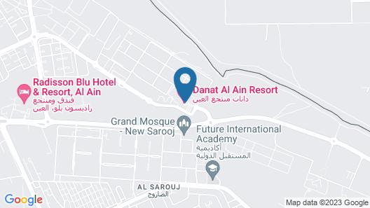 Danat Al Ain Resort Map