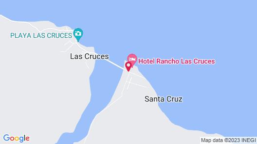 Rancho Las Cruces Baja California Sur Map