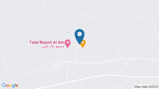 Telal Resort, Al Ain Map