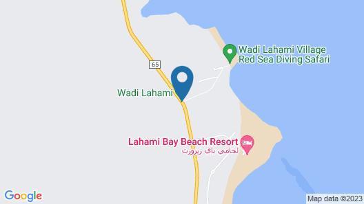 Wadi Lahami Village Map