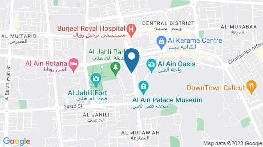 Al Massa Hotel Apartments 1 Map