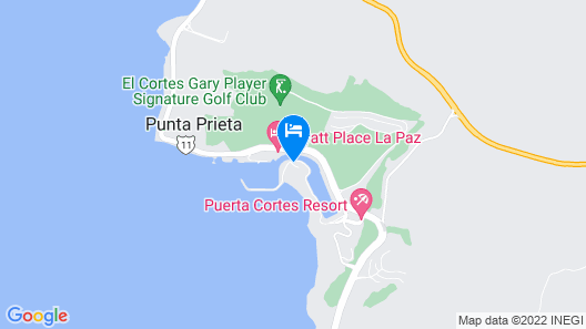 CostaBaja Resort & Spa Map