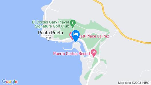 Puerta Cortes Residence Vistamar Map