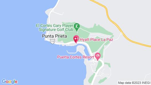 Hyatt Place La Paz Map