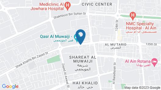 City Seasons Hotel Al Ain Map
