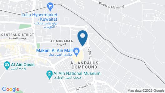 Ayla Grand Hotel Map