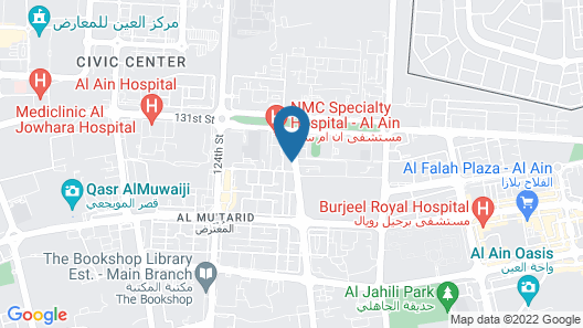 Ayla Hotel Map