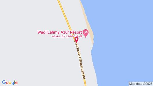 Wadi Lahmy Azur Resort Map