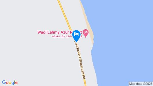 Wadi Lahmy Azur Resort- Soft All-inclusive Map