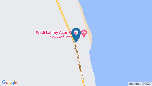 Wadi Lahmy Azur Resort Map