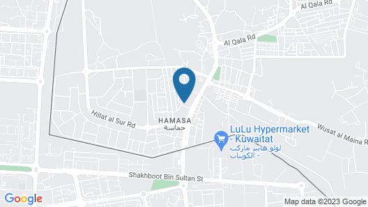 Hamasa Plaza Hotel and Apartments Map