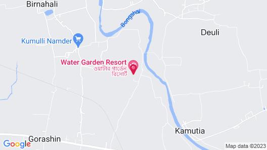 Water Garden Resort & Spa Map