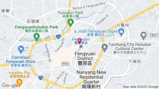 Grand City Hotel Map
