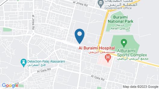 Al Buraimi Hotel Map