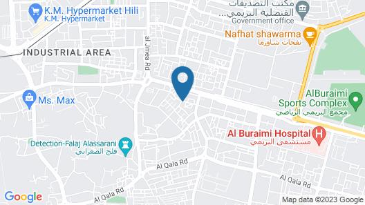 Dar Al Khaleej Hotel Apartments Map