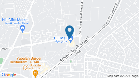 Hili Rayhaan by Rotana Map