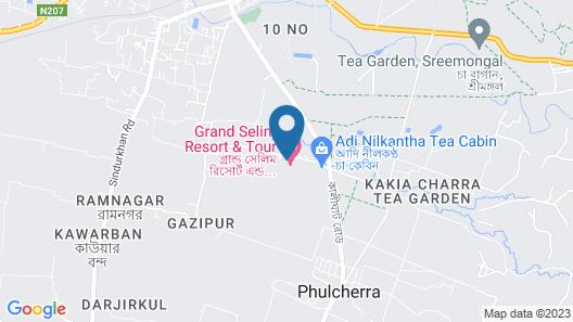 Grand Selim Resort & Tour Map