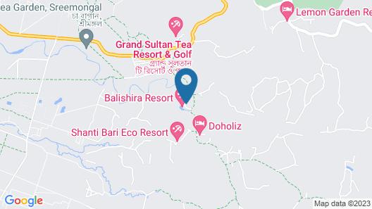 Balishira Resort Map