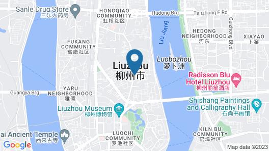Hyatt Place Liuzhou Map