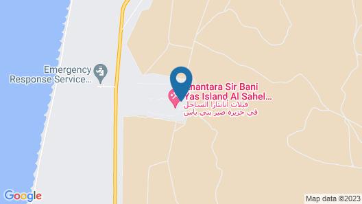 Anantara Al Sahel Villa Resort Map