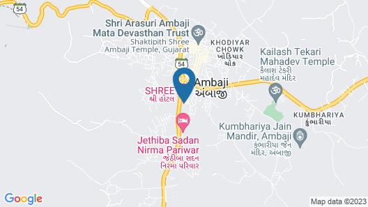 Shree Hotel Map