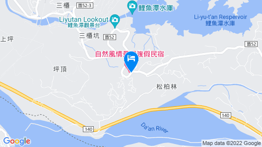 Natural View Hotel Map