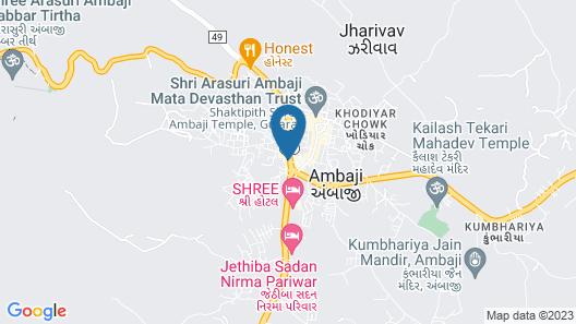 Hotel Ellora Map
