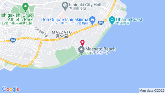 InterContinental ANA Ishigaki Resort Map