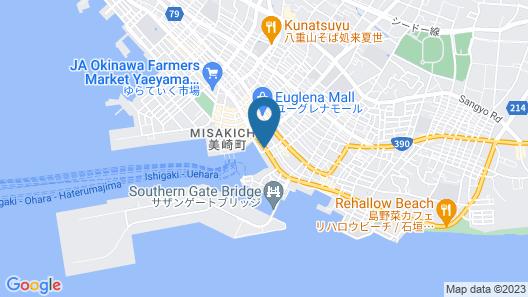 Hotel East China Sea Map