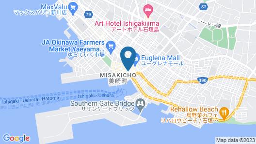 Ishigakijima Hotel Cucule Map