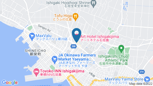Art Hotel Ishigakijima Map