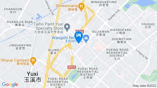 Yuxi Hotel Map