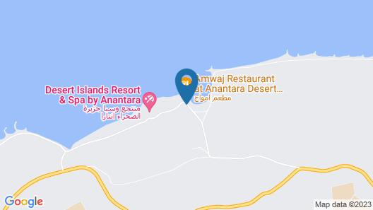 Anantara Desert Islands Resort & Spa Map