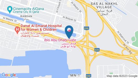 ibis Abu Dhabi Gate Map