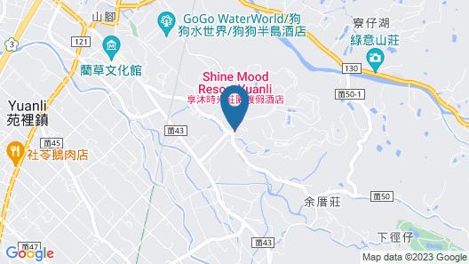 Shine Mood Resort Yuanli Map
