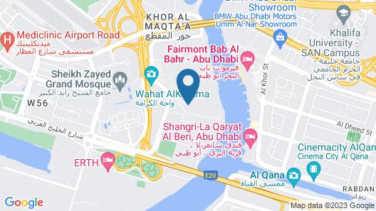 The Ritz-Carlton Abu Dhabi, Grand Canal Map