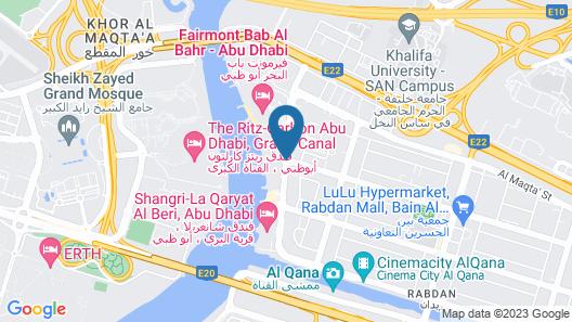 Traders Hotel Qaryat Al Beri Abu Dhabi, by Shangri-la Map
