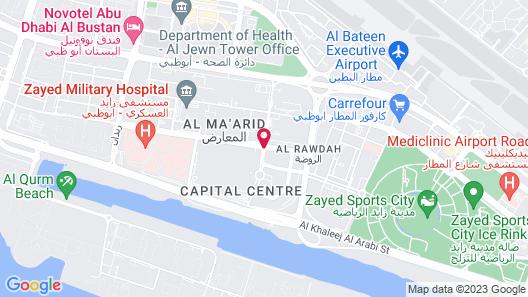Andaz Capital Gate Abu Dhabi – a concept by Hyatt Map