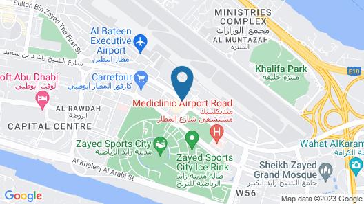 Millennium Al Rawdah Hotel Map