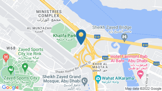 Park Arjaan by Rotana Map