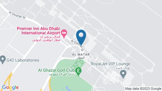 Aerotel Abu Dhabi T1 Map