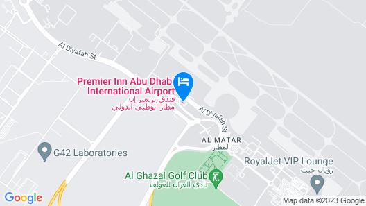 Premier Inn Abu Dhabi Int Airport Map