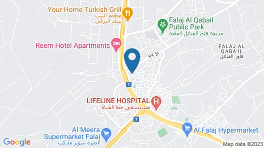 Samaher Hotel Map