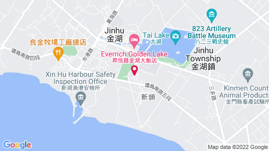 Shang Her Yuan Bed and Breakfast Map