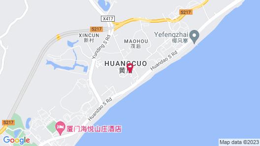 Xiamen Dayun Rv Camp Map
