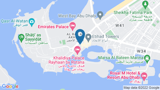 Bab Al Qasr Residence Map